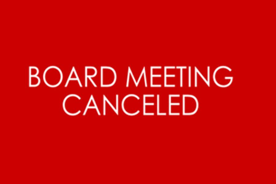 CANCELED GOVERNING BOARD MEETING - November 10, 2020